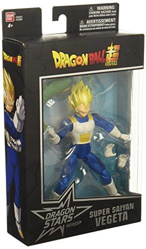 Dragon Ball Super Figura de Goku de Dragon estrellas Super Saiyan Vegeta
