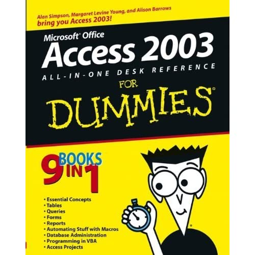 Access 2003 All-in-One Desk Reference For Dummies by Alan Simpson (3-Oct-2003) Paperback