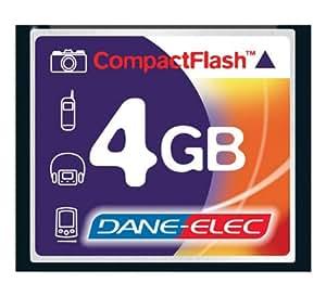 Carte mémoire pour Appareil Photo Numérique Olympus E-410 4GB Micro carte mémoire CompactFlash