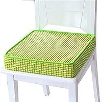 Preisvergleich für JianMeiHome Kissen Stuhlkissen Sitzkissen Tatami Mat Haushalt Schwamm Kissen Tatami Kissen Rutschfest Sitzkissen grün (Size : 50 * 50 * 8cm)