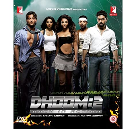 Dhoom 2: Amazon.in: Hrithik Roshan, Uday Chopra, Abhishek Bachchan, Sanjay  Gadhvi, Hrithik Roshan, Uday Chopra: Movies & TV Shows