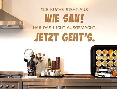 I-love-Wandtattoo 12006 Wandtattoo Küchen Spruch