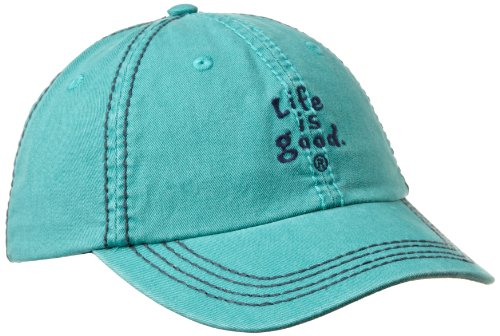 Life is Good Damen Essentials Chill Cap, damen, aqua blue (Womens Life Is Good Hat)