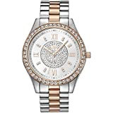 JBW Mondrian Reloj DE Mujer Cuarzo 37MM Correa DE Acero Doble Tono J6303D