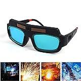 Schweißbrille, solarbetrieben, automatische Verdunkelung, Augenschutz, langlebig, automatisches Dimmen für Schweißer, Augenschutz