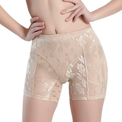 Yalatan Women Bum Butt Hip Booster Underwear Knickers Padded Panties Shapewear -