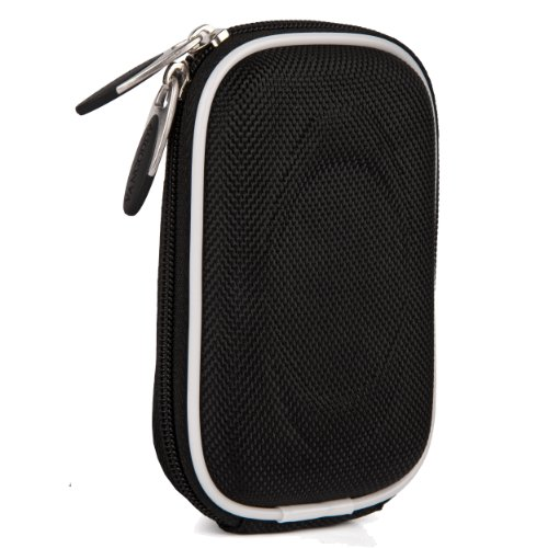 Vangoddy Semi Hard Slim Nylon Carrying Case For Nikon Coolpix Series Point And Shoot Digital Cameras (Nylon Black) (AD_CAMLEA413_WCAM:14:013)  available at amazon for Rs.1401