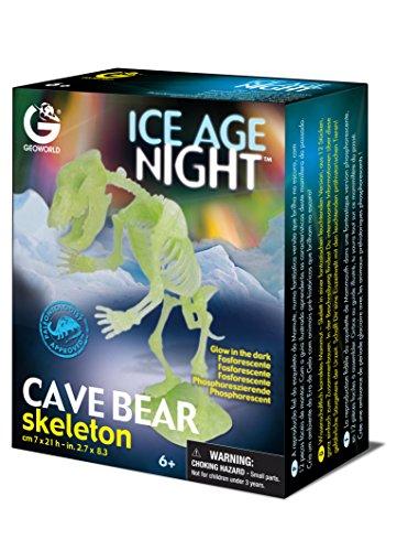 Geoworld CL599K - Ice Age Noche, Esqueleto de Oso Cavernario