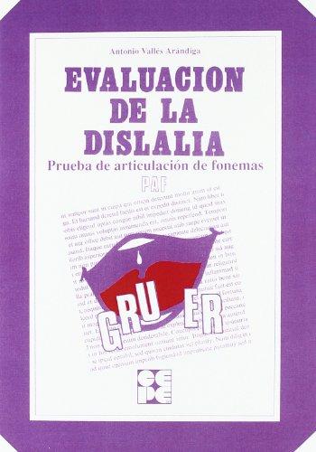PAF : evaluación de dislalias