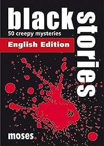 Moses Verlag 364 - Black Stories 1, englische Ausgabe