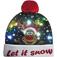 Weihnachten LED Mütze Geili LED Hüte Partyhut leuchtende Strickmütze Geburtstag Hut Wintermütze Weihnachtsmütze... preisvergleich bei billige-tabletten.eu