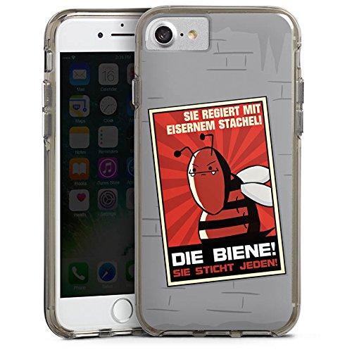 Apple iPhone X Silikon Hülle Case Schutzhülle DirtyWhitePaint Fanartikel Merchandise Poster Propaganda Bumper Case transparent grau