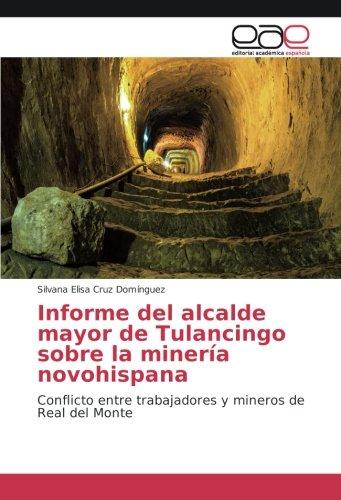Descargar Libro Informe del alcalde mayor de Tulancingo sobre la minería novohispana: Conflicto entre trabajadores y mineros de Real del Monte de Silvana Elisa Cruz Domínguez