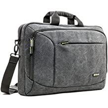 Borsa Messaggero Laptop, Evecase Custodia di Tela per Computer, Notebook,