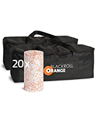 blackroll-orange Trainer BAG Duopack inkl. 20 Faszienrollen MED