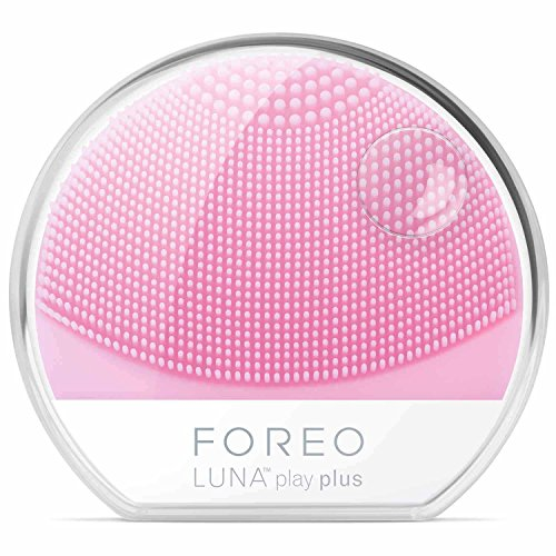 FOREO LUNA Play Plus, Portable Facial Cleansing Brush, Pearl Pink