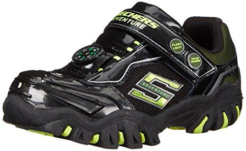 Skechers, Sapatos De Bebê Menino - Caminhante Sapatos Pretos (bklm)