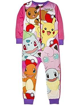 Pijama de forro polar para niñas con el personaje Onesie, talla de 1-8años