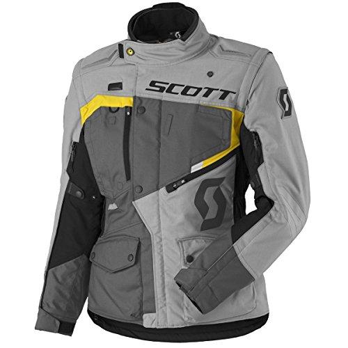Scott Dualraid DP Damen Motorrad Jacke grau/gelb 2017: Größe: M (38)