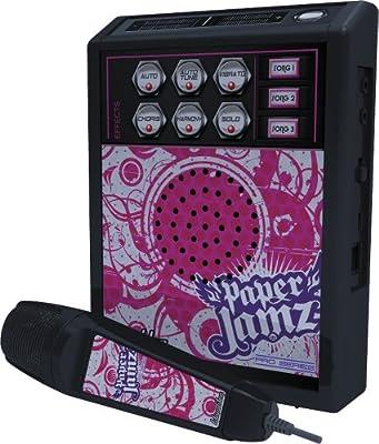 Paper Jamz Pro Series 6422 -Micrófono y amplificador con efectos de sonido, color rosa [importado de Inglaterra] de Pro Series