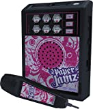 Paper Jamz Rock Girl Pro Microphone (Pink)