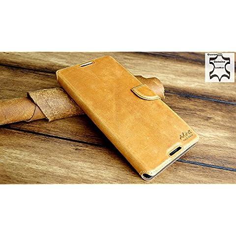 URCOVER® Custodia portafoglio Xperia T2 | Protettiva Akira Fatta a