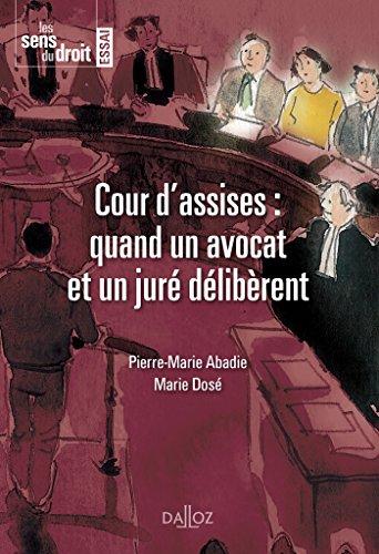 La cour d'assise : quand un avocat et un juré délibèrent - 1re édition par Marie DOSÉ