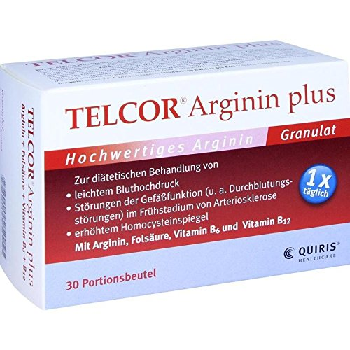 Telcor Arginin plus Beute 30 stk