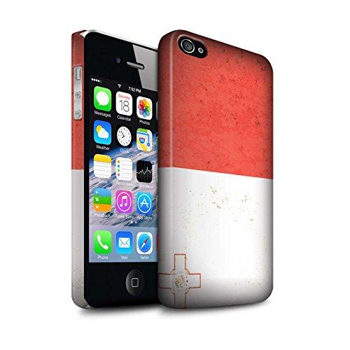 STUFF4 Matte Snap-On Hülle / Case für Apple iPhone 7 Plus / Litauen/Litauisch Muster / Europa Flagge Kollektion Malta/Maltese