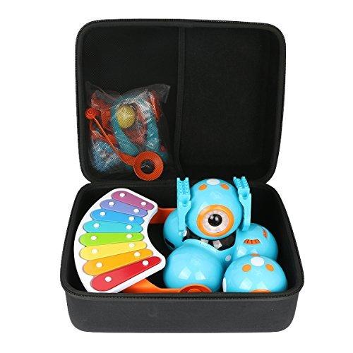 Hart Reise Schutz Hülle Etui Tasche für Wonder Workshop Dash Robot + Dot Creativity Kit + Xylophone + Katapult kits von co2CREA