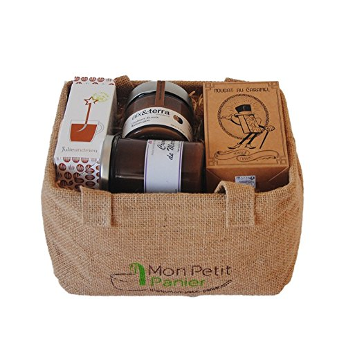 Cesta gourmet - Merienda - Set 7 - productos franceses