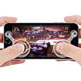 shenzoo® Joystick Joypad für Apple iPhone + Android Handy Smartphone + iPad Tablet Game Controller in weiss