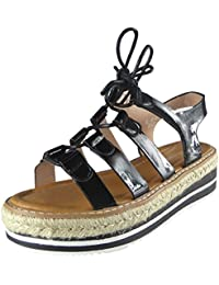 Nouvelles femmes Plateforme Des sandales Taille 3-8