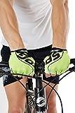 #8: Sportigo Unisex VENT-X CYCLING Gloves - Neon Green/Black