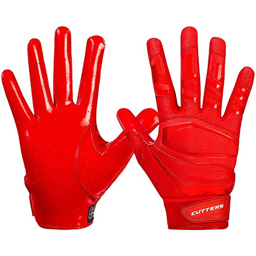 Cutters Gloves S452 Rev Pro 3.0 Solid Receiver Handschuhe Design 2018 - Rot Gr. S