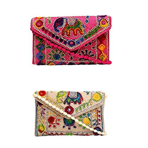 Lonika Collections Bolso de mano para mujer