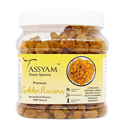 8. Tassyam Golden Raisins