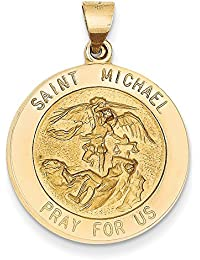 0091fa4e282 Lex   Lu LAL80285 - Colgante medalla de San Miguel en oro amarillo de ...