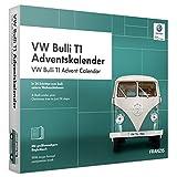 FRANZIS VW Bulli T1 Adventskalender 2019, In 24 Schritten zum Bulli unterm Weihnachtsbaum, Das Kultauto im Maßstab 1:43| Ab 14 Jahren