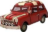 Auto aus Metall rot mit Spardose PKW Oldtimer Nostalgie Mini