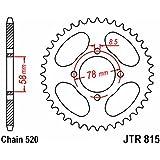 JT - R81538 : Corona plato transmision trasero