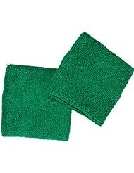 Schweißband / Schweißbänder im 2er Set in 10 Farben | schwarz / weiß / rot / gelb / grün / royalblau / türkis / hellblau / navy / pink