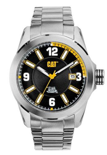 CAT YO.141.11.124 - Reloj de pulsera hombre, acero inoxidable, color plateado