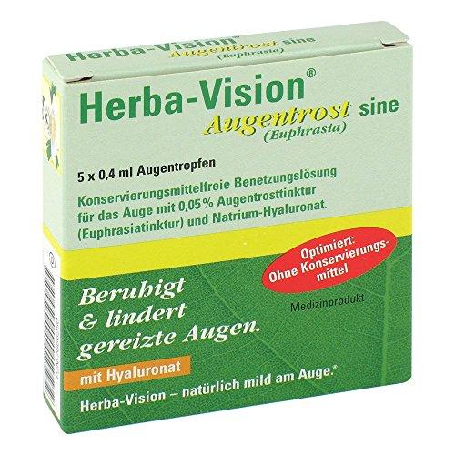 Herba-vision Augentrost sine Augentropfen 5X0.4 ml