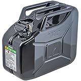 Arnold métal-bidon à essence noir 10 L, 1–2001 6011–x