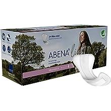 Abena Light Ultra Mini 0 for Light Incontinence, 100 ml, Case of 10 Packs