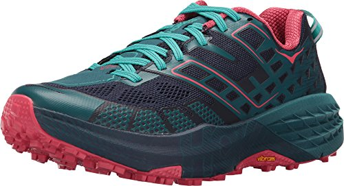Hoka One One Speedgoat 2 Women Peacoat Ceramic Zapatillas de Trail Running Mujer Size: 36 2/3 EU