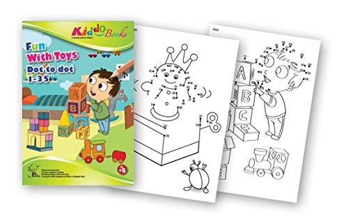 Juguete quac kduck libro para colorear FUN with Toys – Dot to Dot 1 ...