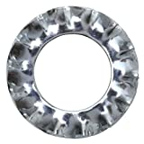 Schössmetall Fächerscheibe M10 Form A außengezahnt DIN 6798 Stahl verzinkt 100 Stück