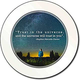 Trust in The Universe Quote Car/Van Permit Holder/Tax Disc Gift